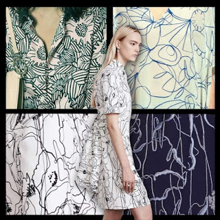 Sonia by Sonia Rykiel | Christian Wijnants | Jason Wu x 3 via  www.patternpeople.com
