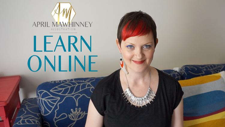 April Mawhinney Design Studio   Skillshare classes   Learn online   Textile Design   Surface pattern Design  
