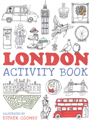 Esther Coombs | Illustrator | London Activity Book Cover