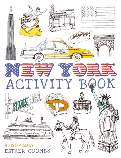 Esther Coombs | Illustrator | New York Activity Book Cover