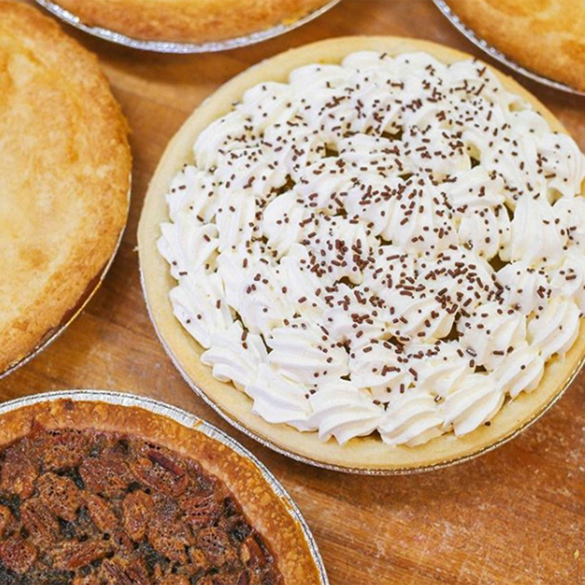 Utah - Provo Bakery, ProvoIn business for more than 75 years, Provo Bakery's original owner trained as an Army baker in Paris during the Korean War. Still operated by the same family, they'll be happy to serve your favorites like chocolate cream pie, coconut cream pie and all sorts of fruit pies including mincemeat.Photo courtesy @PROVOBAKERY/INSTAGRAM