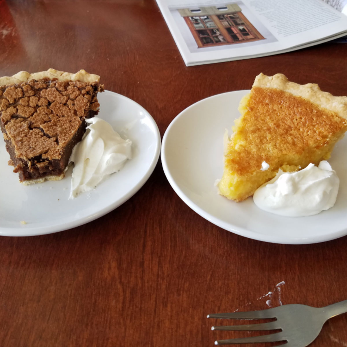 Vermont - The Southern Pie Company, ChesterA little taste of the South awaits at Southern Pie Company. Savor a variety of flavors of chess pie, or their maple buttermilk pie for a uniquely Vermont twist on a southern classic. Don't forget about their pumpkin sweet potato pies in the fall. Still craving that Vermont maple flavor?Photo courtesy TRIPADVISOR.COM