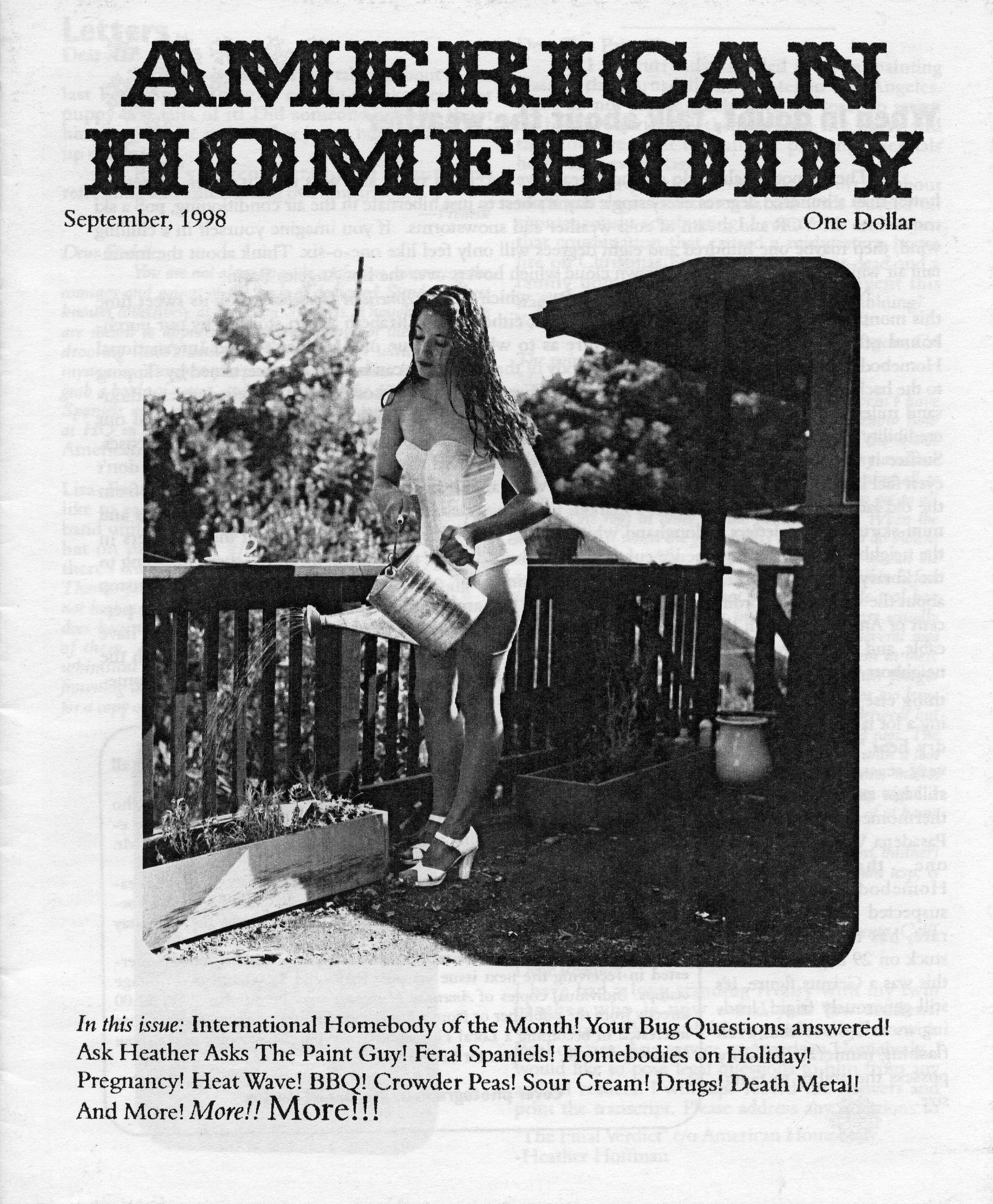 American Homebody, 1999-2000