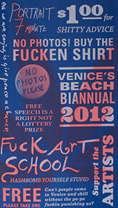 Venice's Beach Biannual, 2012