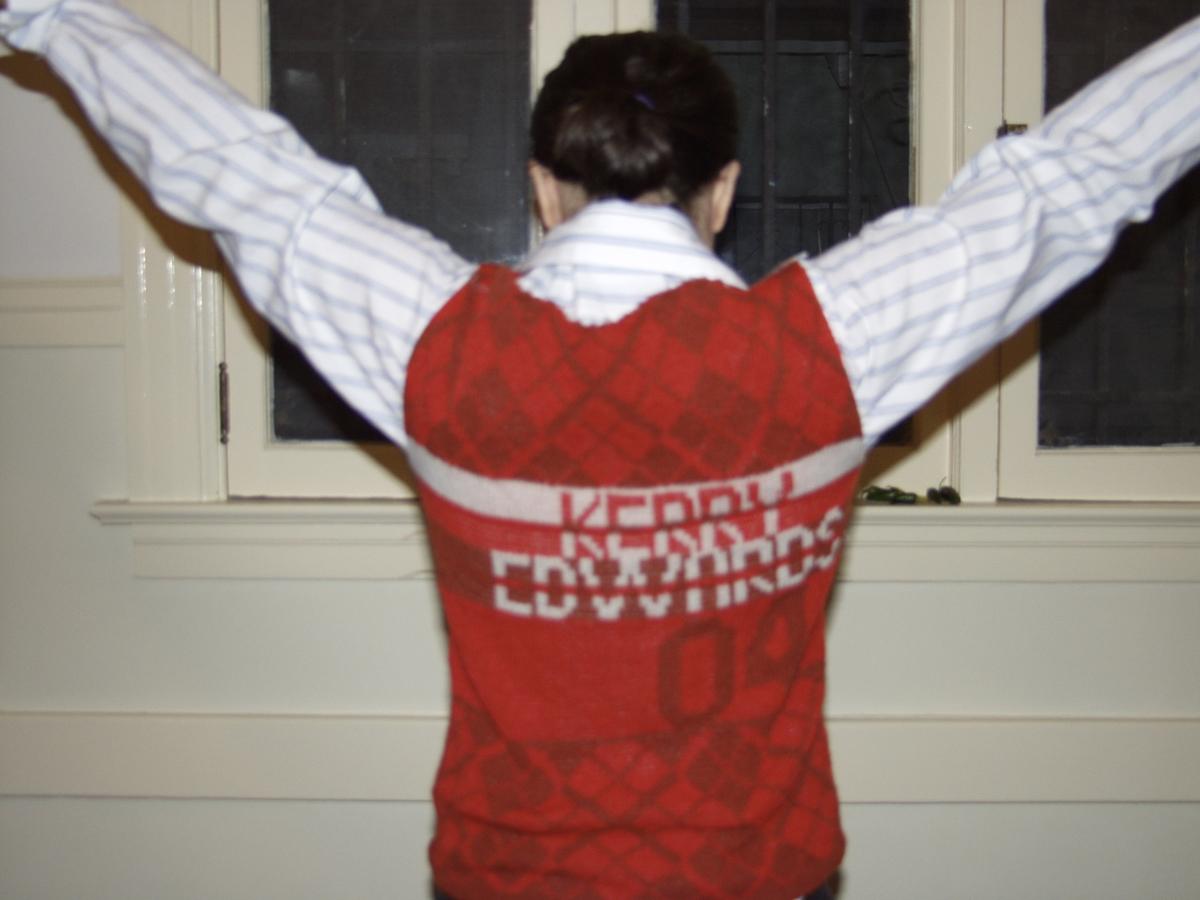 Kerry Edwards vest (back), 2004