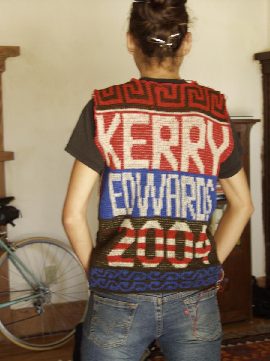 Kerry Edwards vest, 2004