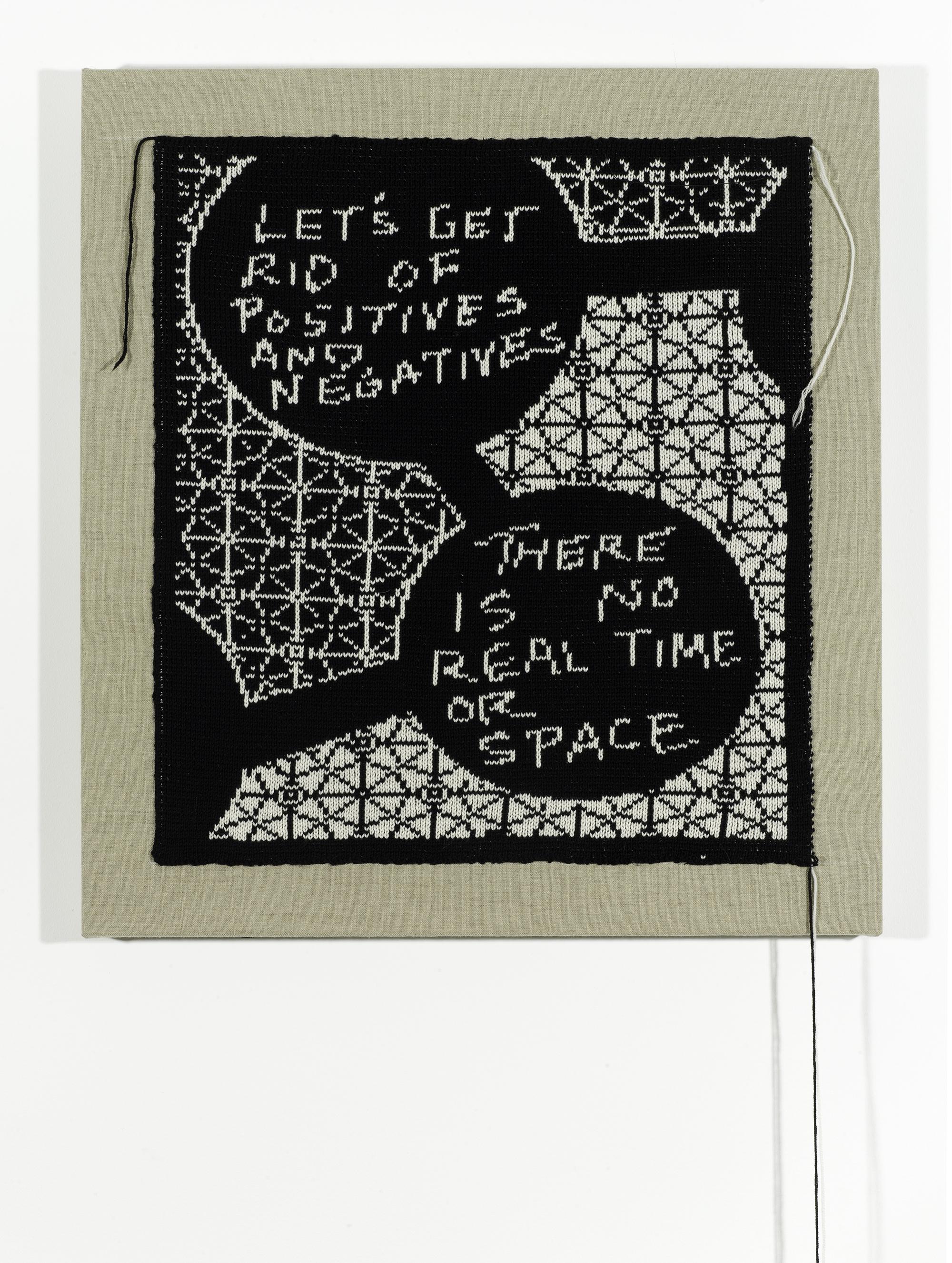 Let's Get Rid of Positives and Negatives (Negative), 2014