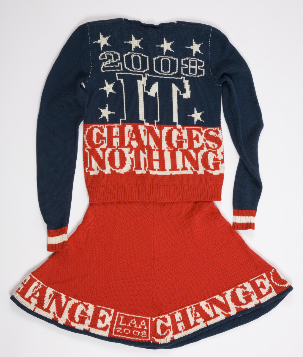 If Nothing Changes, It Changes Nothing (back), 2009