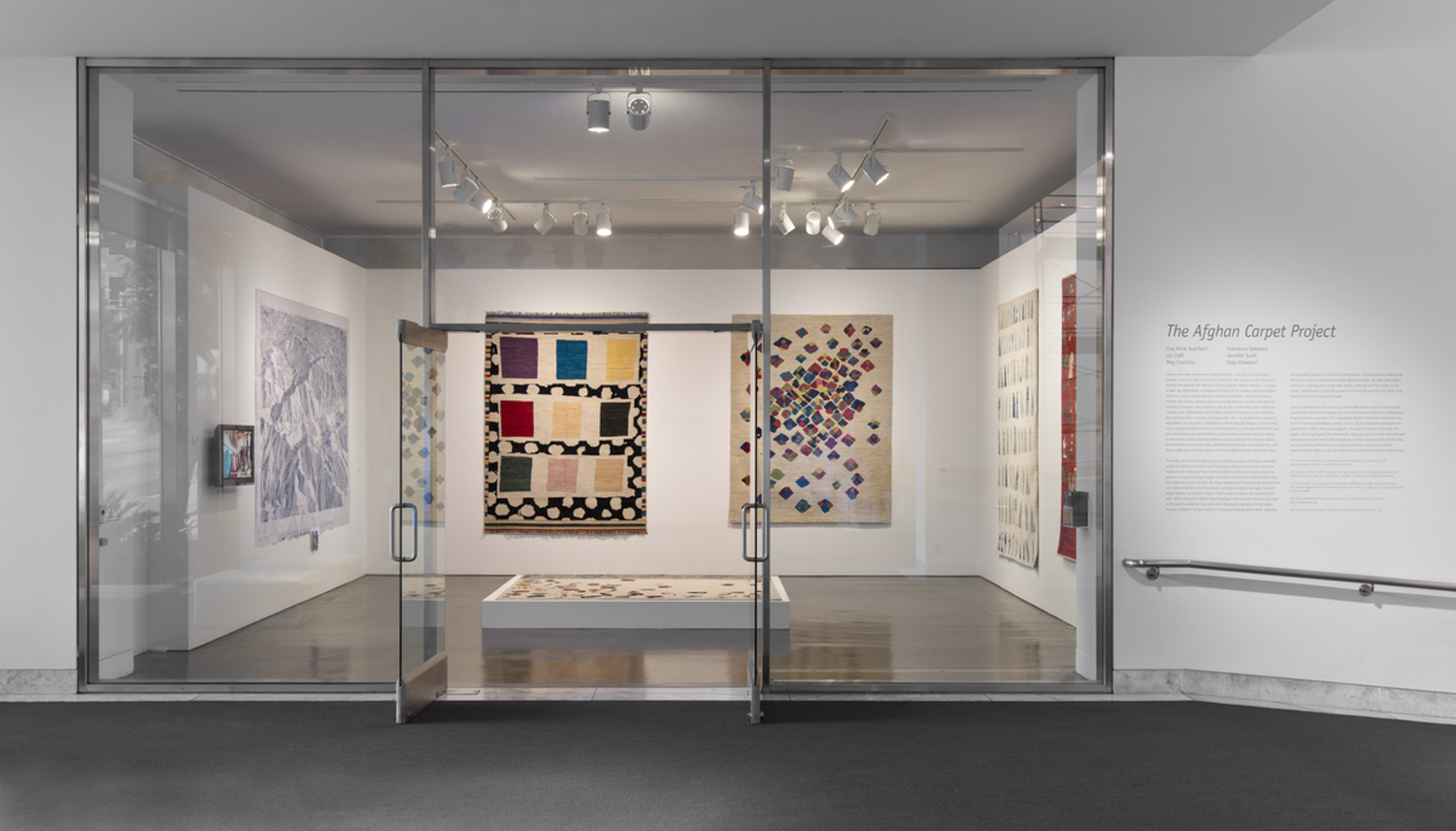 The Afghan Carpet Project, June 13-September 27, 2015. Installation at the Hammer Museum, Los Angeles. Photo: Brian Forrest.