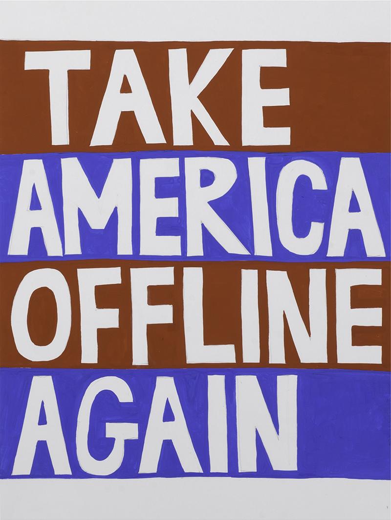 Take America Offline Again