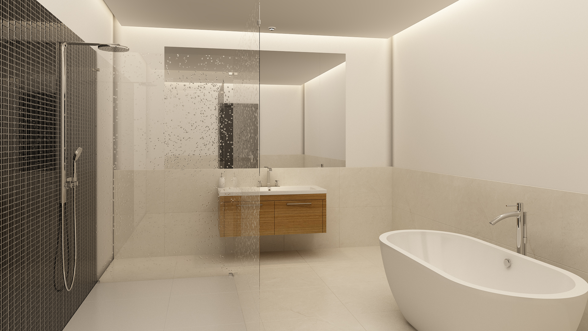 CGI Bathroom Scene Photography