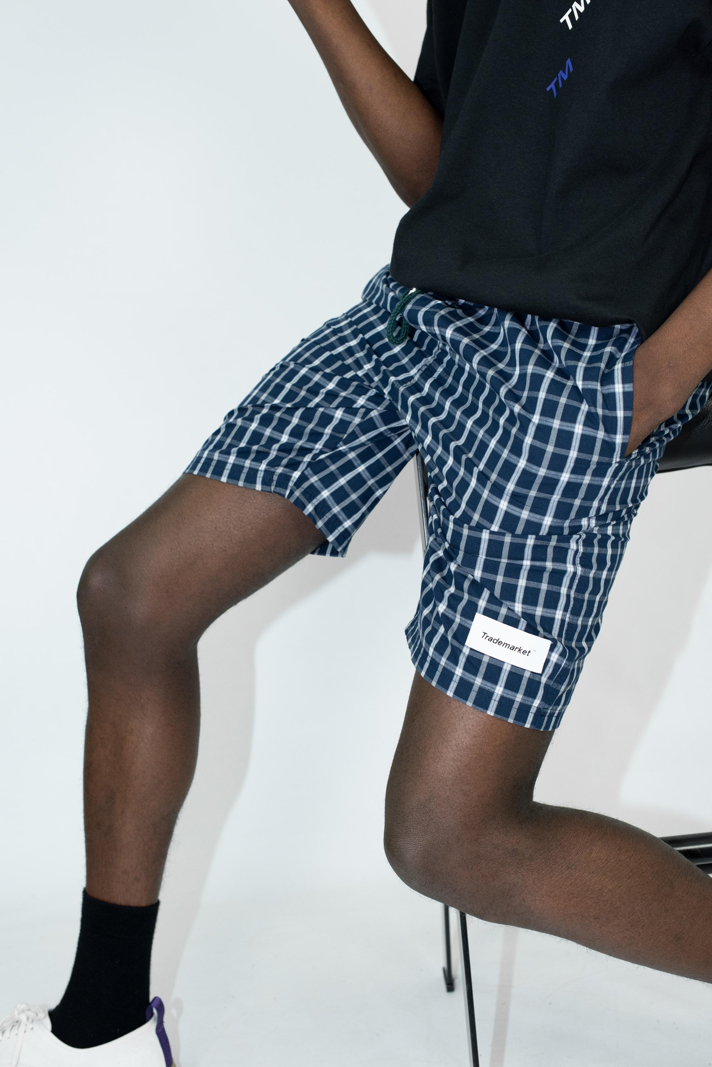 Trademarket ™️ - Bottoms - Blue Check Short Special.jpg