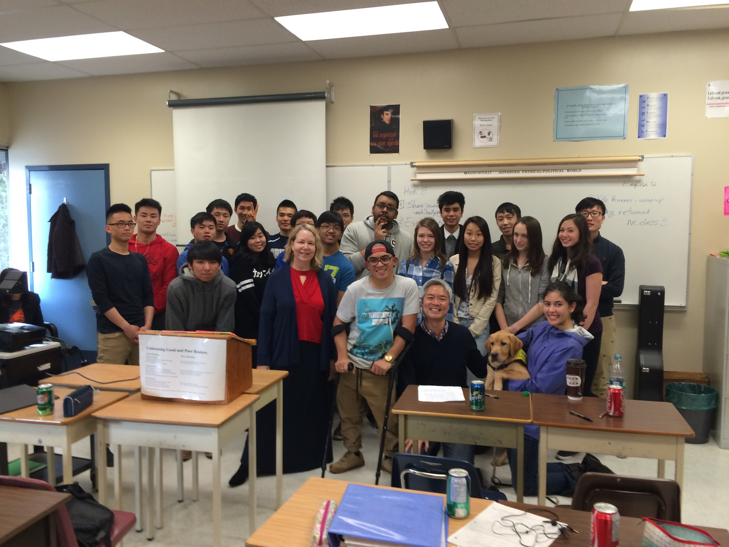 Frontier Poetics wraps up its run at Palmer Secondary
