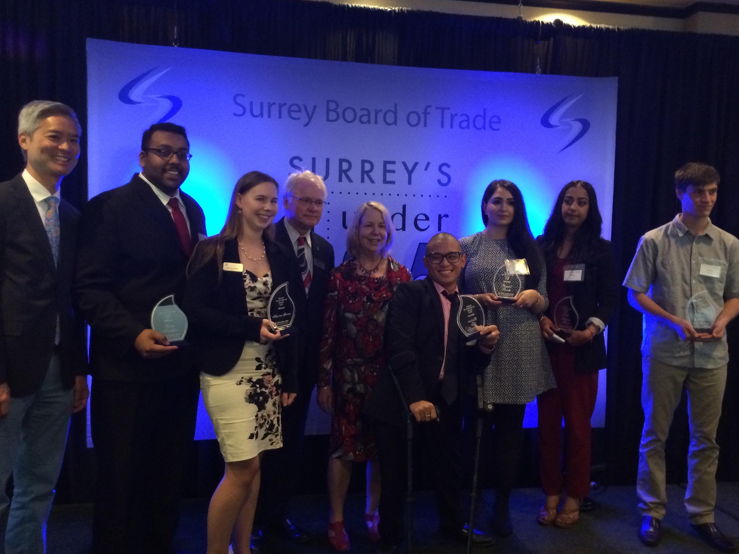 President Davis and the KPU winners