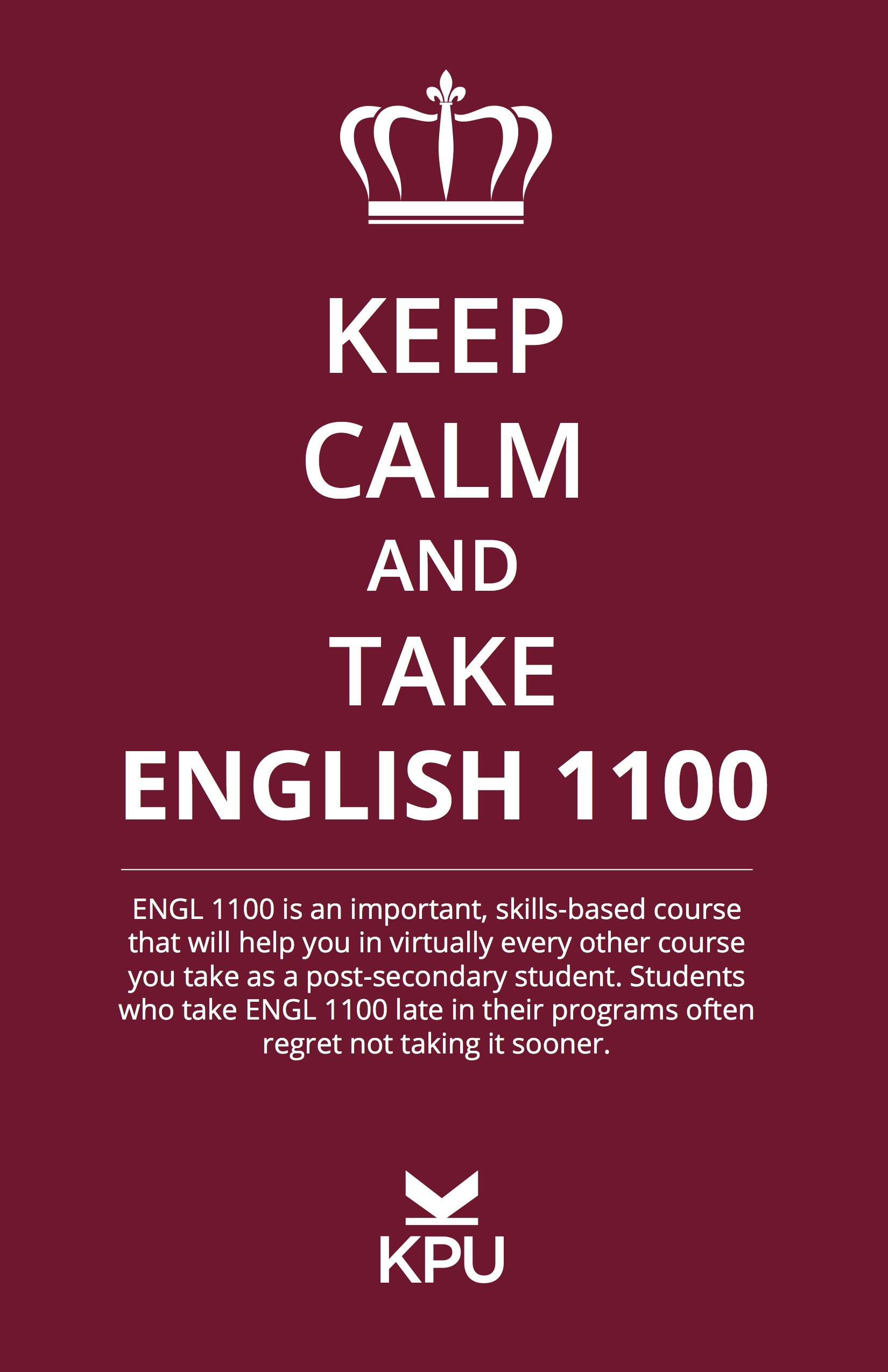 For more information on ENGL 1100, click  here.