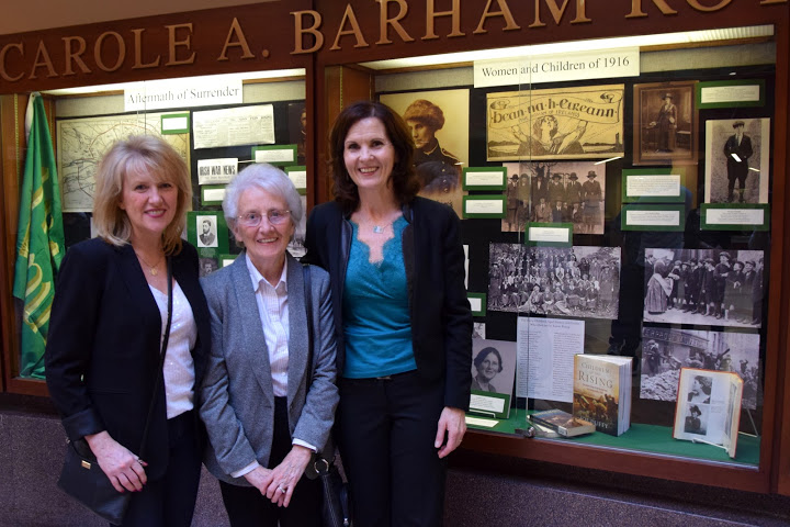 May O'Boyle-Deegan, her mother Madge O'Boyle (a native Irish speaker from Donegal), and Eileen Colleran Sprague