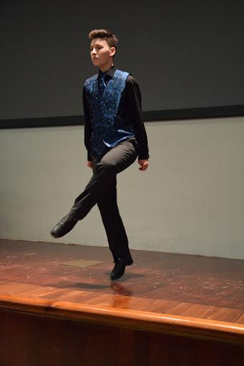 Brendan from the Niall O'Leary School of Irish Dance