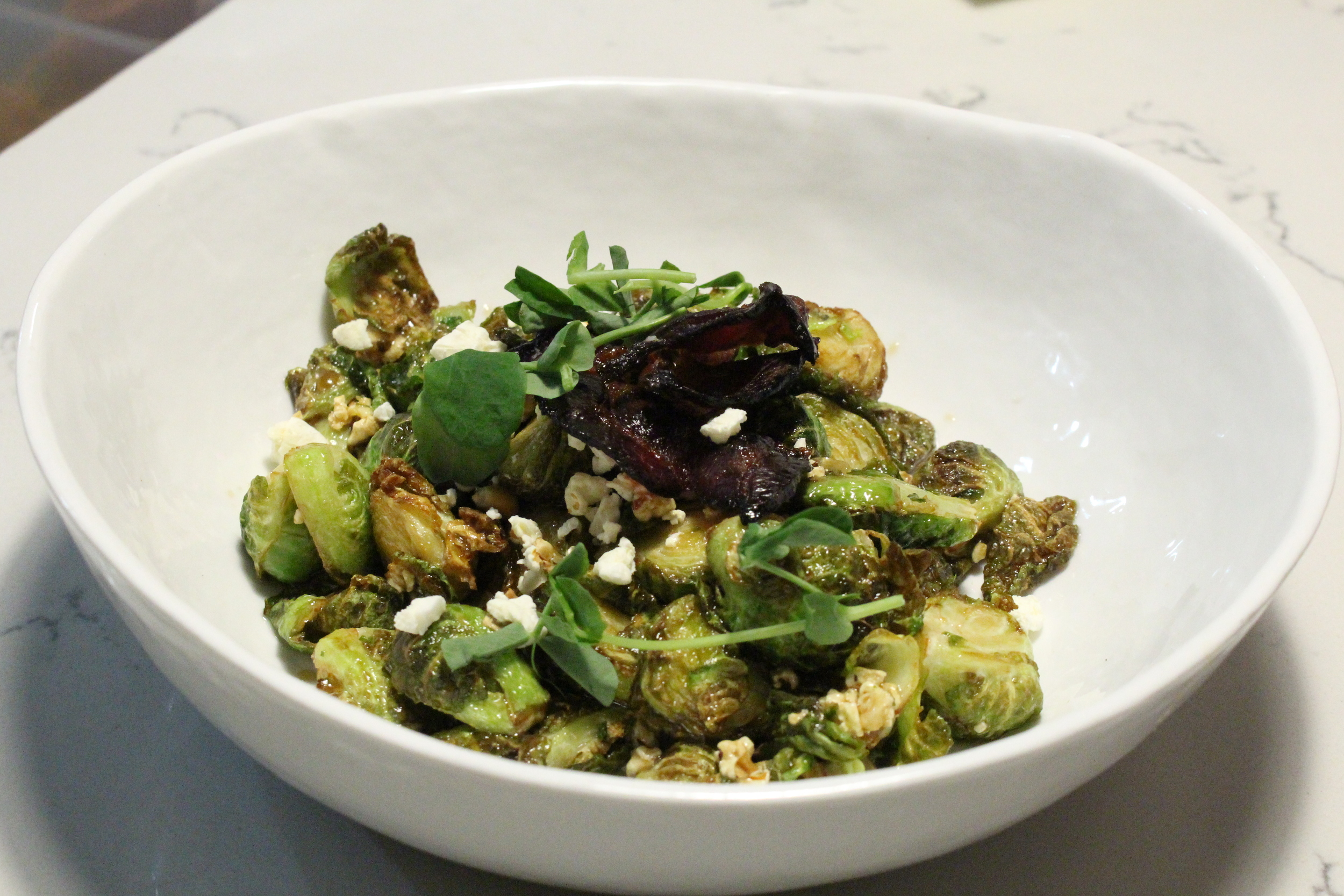 kettlecorn brussel sprouts