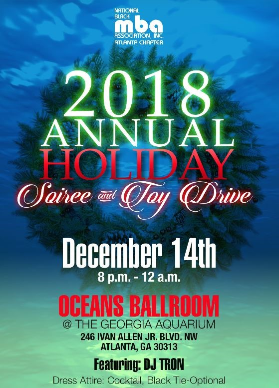 NABA MEMBER GENERAL ADMISSION: $55  NON-MEMBER GENERAL ADMISSION: $65  Sales End 12/14/2018 @ Noon  TICKETS ARE LIMITED!!    REGISTER HERE    Want to take advantage of the member discount?  Join or renew your NABA membership today!!    Join HERE    For additional information, please contact LaTrice Fitzpatrick at   specialevents@nabaatlanta.org