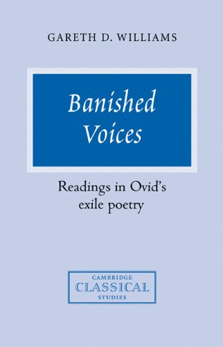 Banished Voices: Readings in Ovid's Exile Poetry