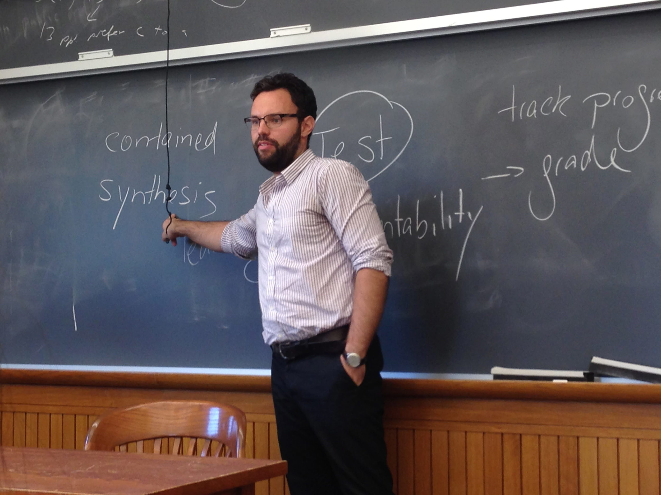 Mathias Hanses, Team-Teaching Pedagogy Colloquium 2014