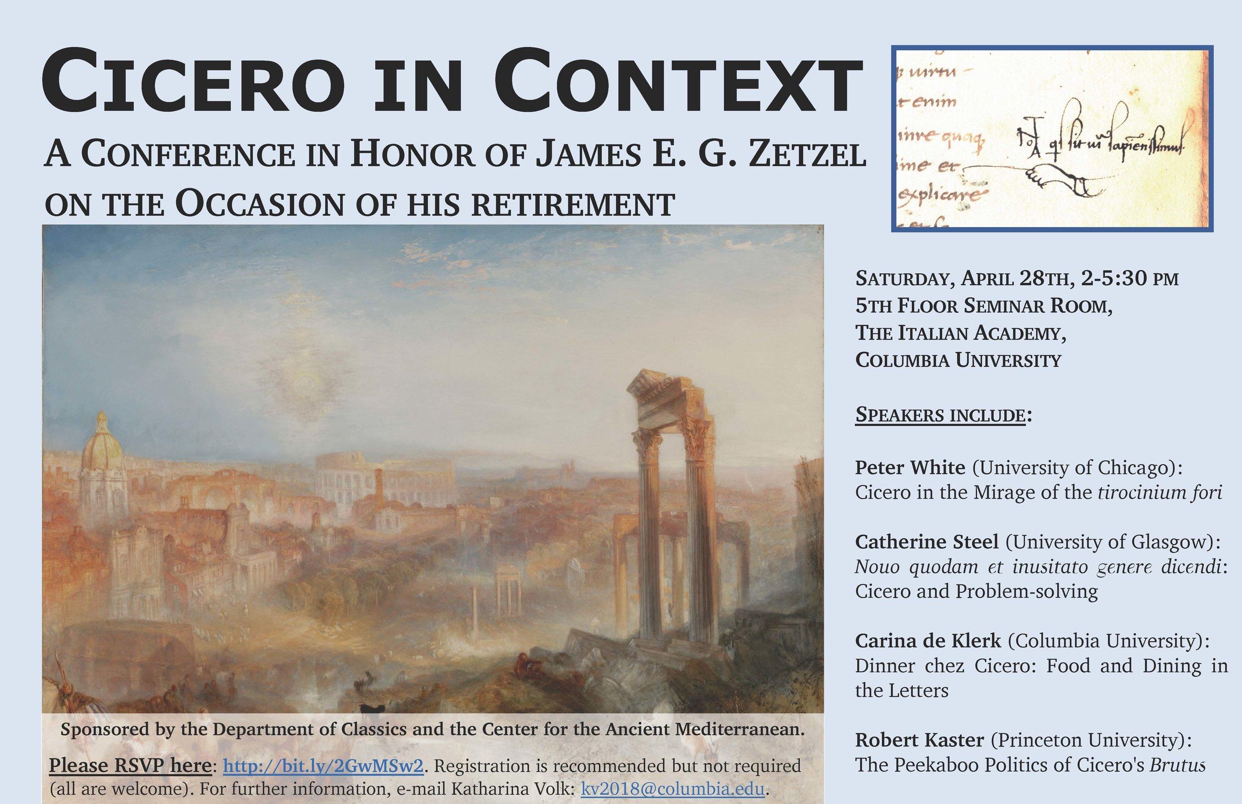 Cicero in Context - James Zetzel Conference.jpg