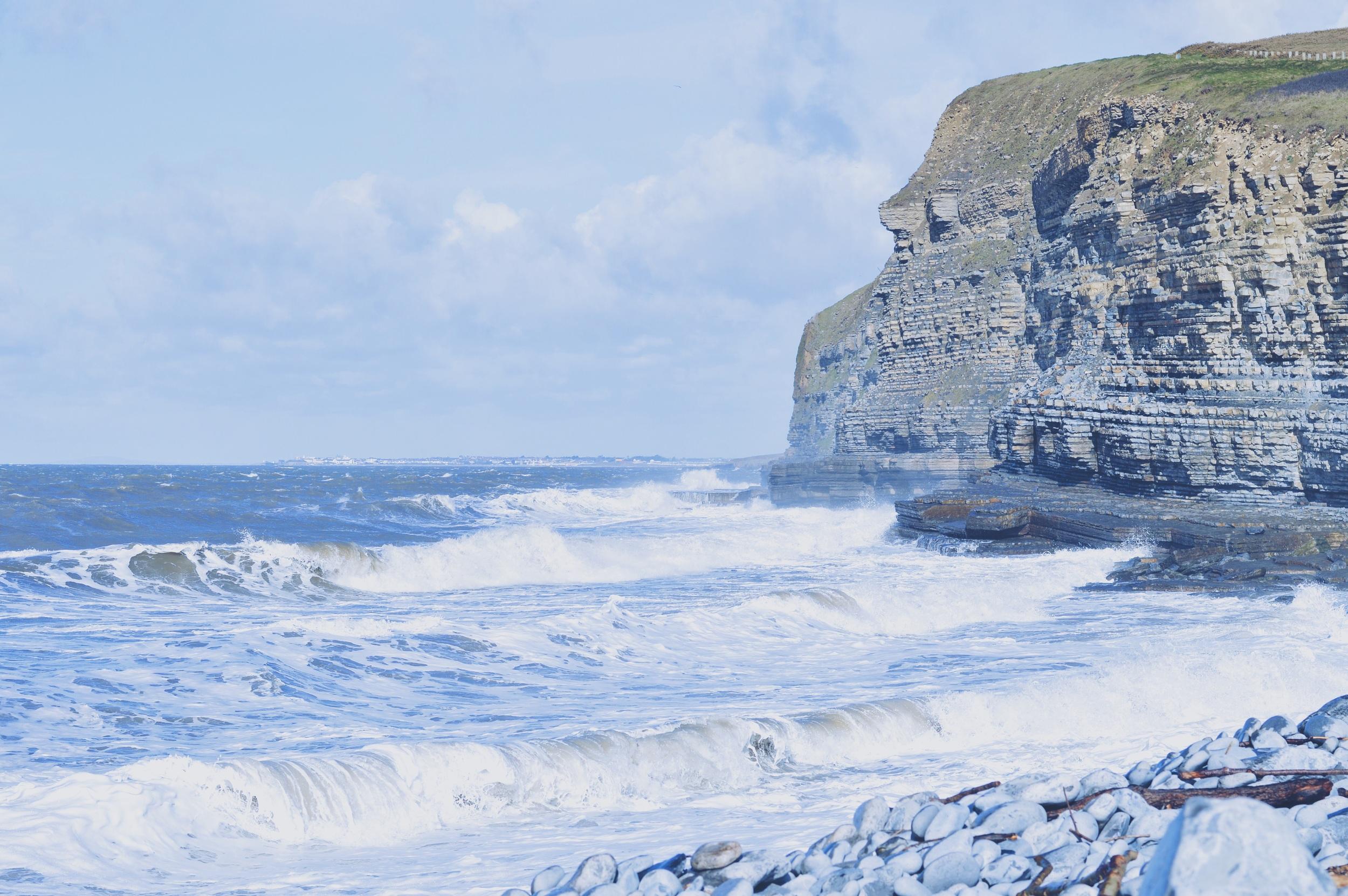 Dunraven Bay.