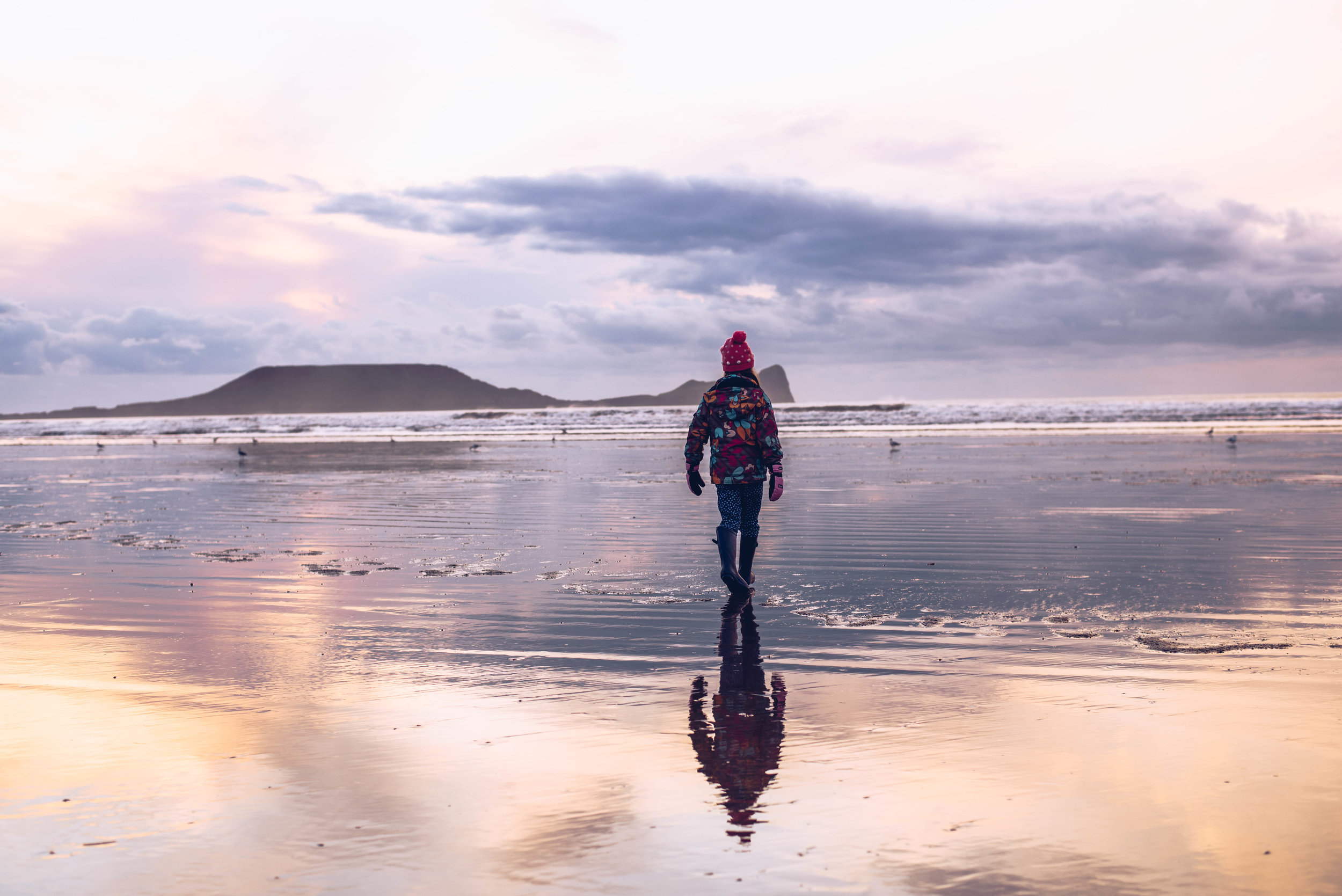 Some free fun at Rhossili in November