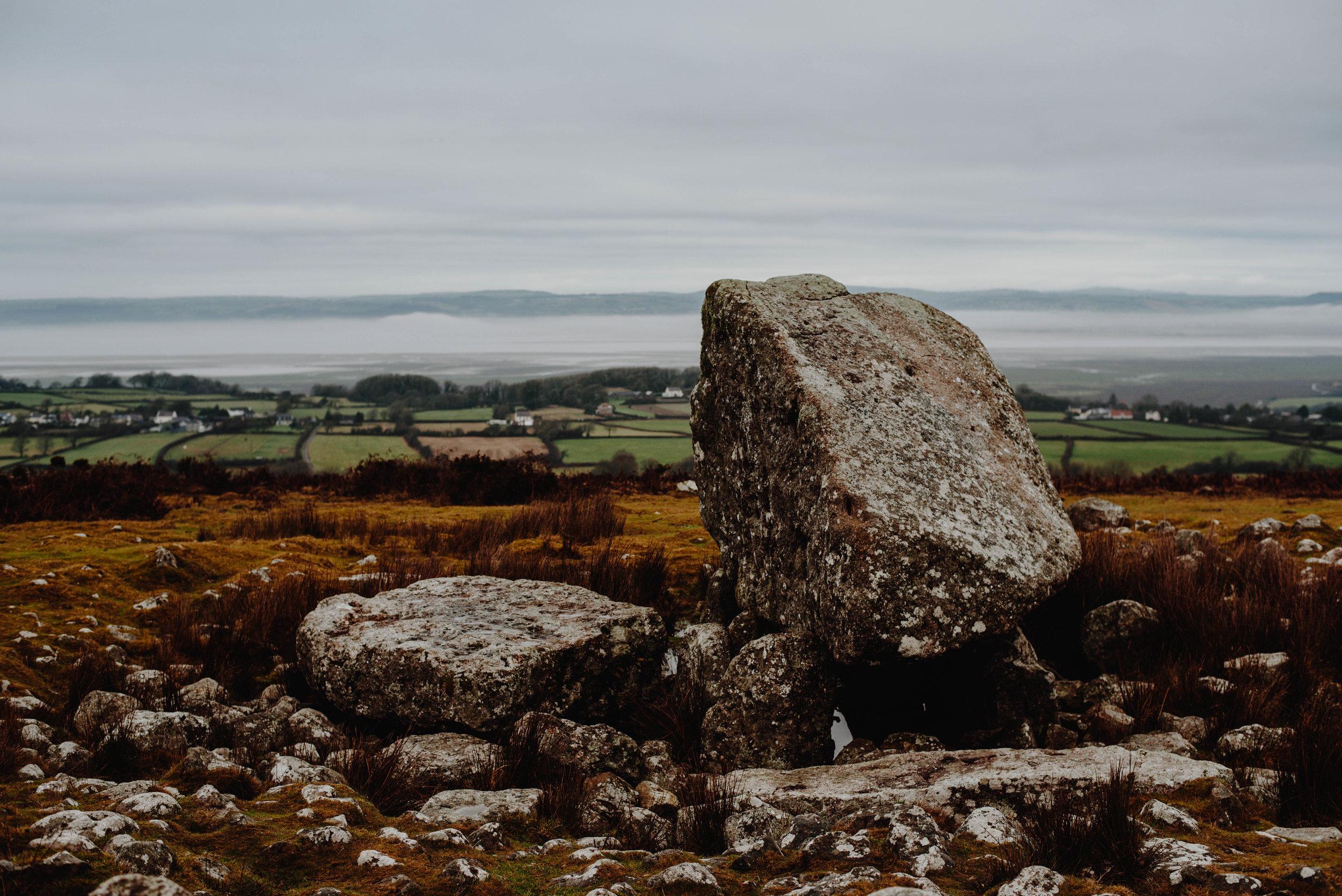 Arthur's Stone  SS:1/250 F:3.5 ISO:160 WB: Cloudy. 50mm Lens. Single Spot Focus.