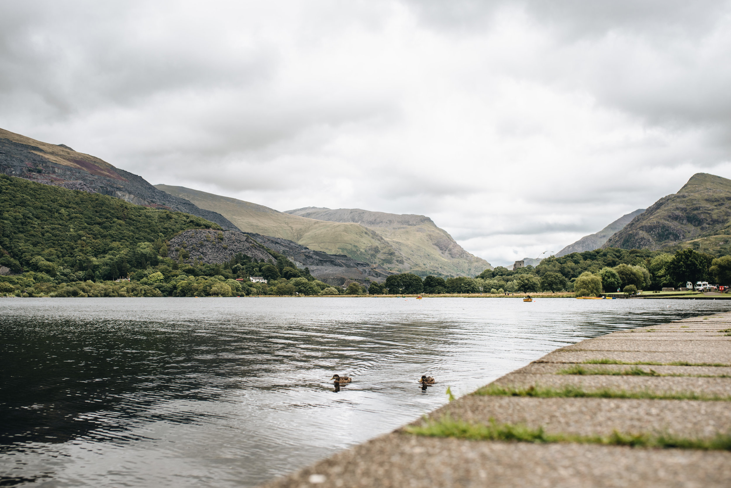 A holiday in North Wales - Llanberis