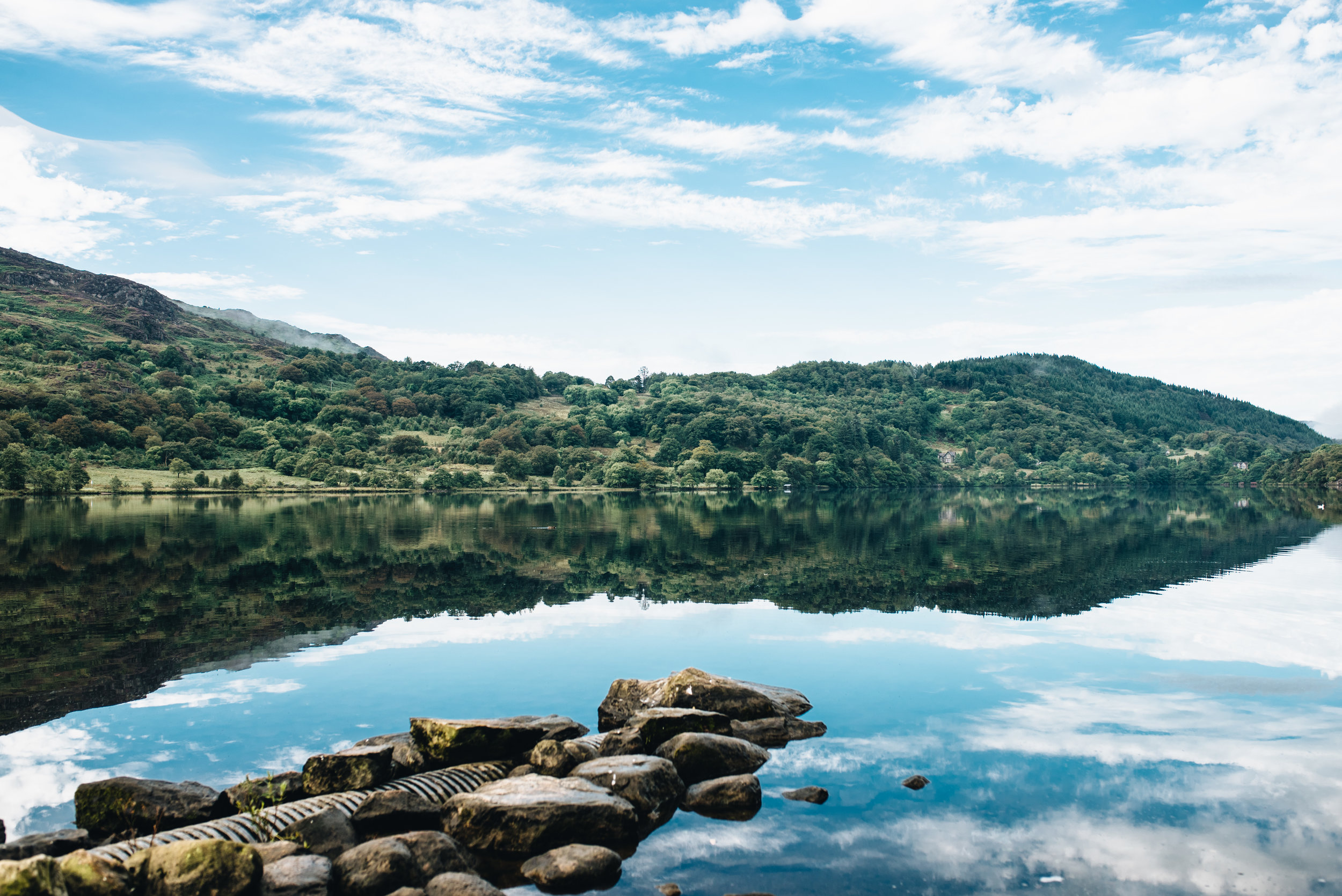 A holiday in North Wales - Llyn Gwynant
