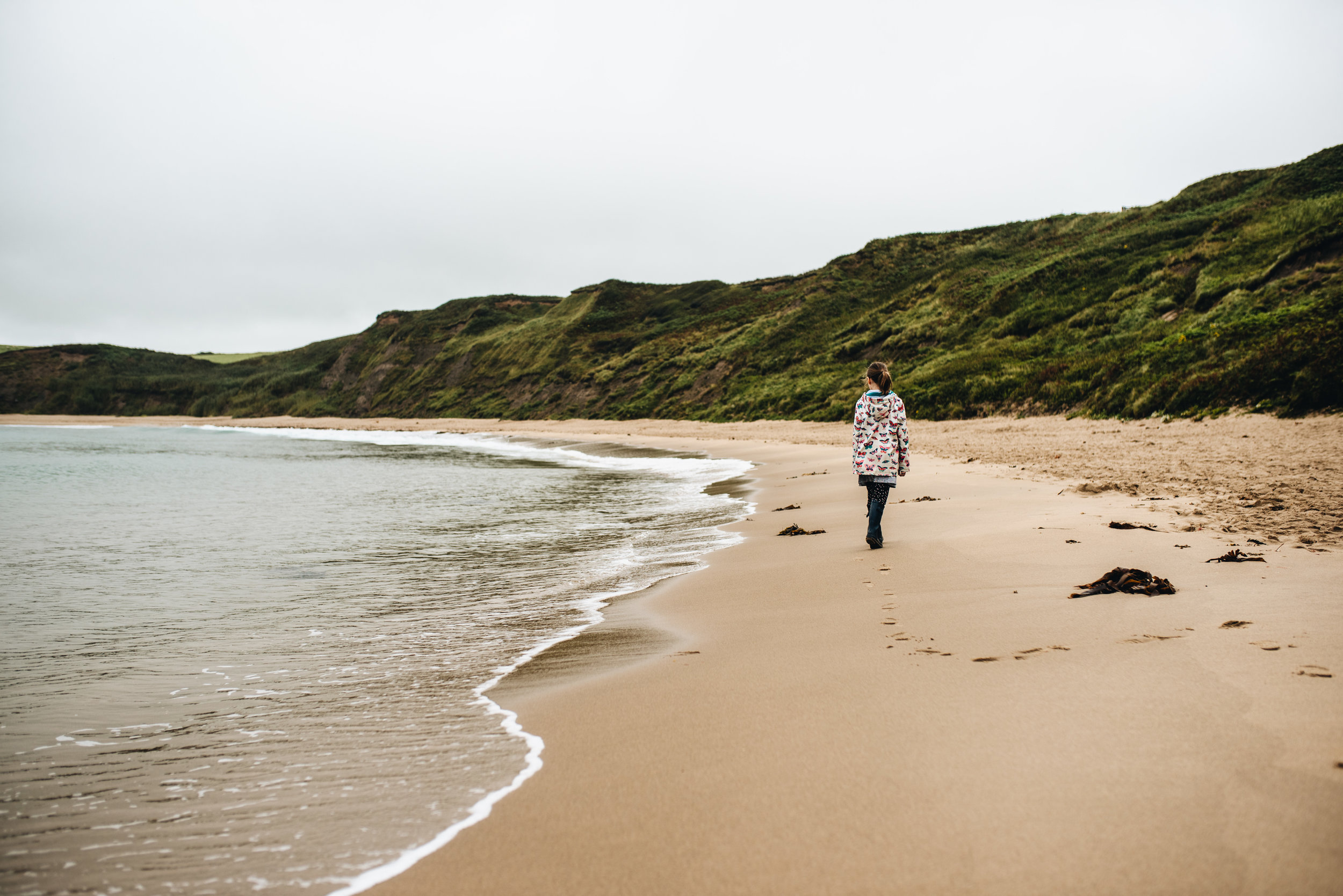 A holiday in North Wales - Llyn Peninsula - Whistling Sands