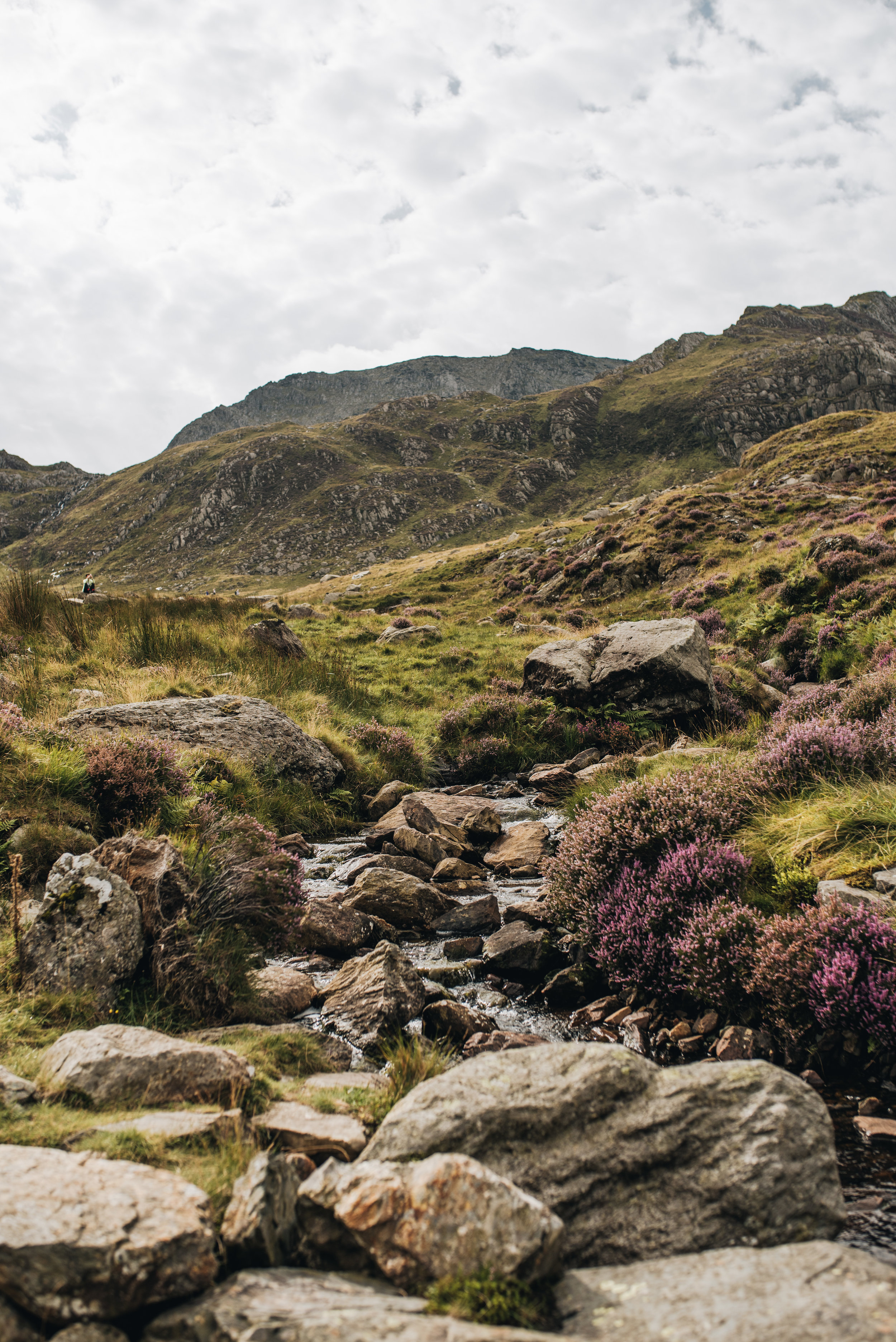 A holiday in North Wales - Llyn Idwal - Snowdonia