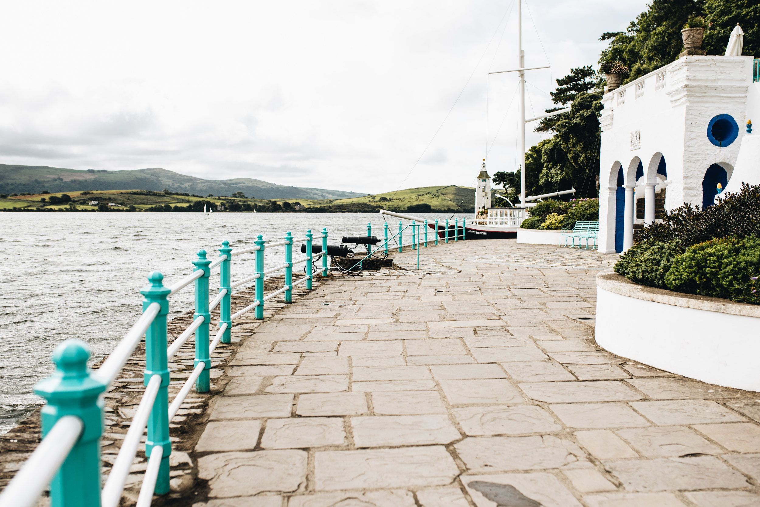 A holiday in North Wales - Portmeiron