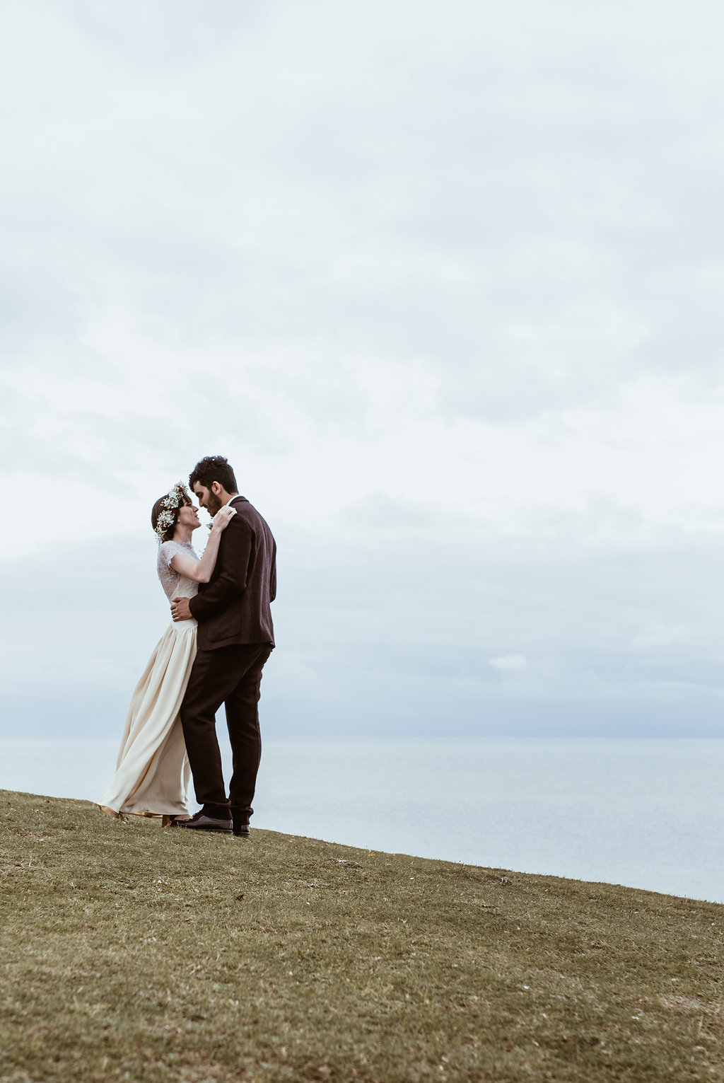Couples Portraits | Bride and Groom | Wedding Photography | Swansea, South Wales | Down to Earth | Our Beautiful Adventure Photography