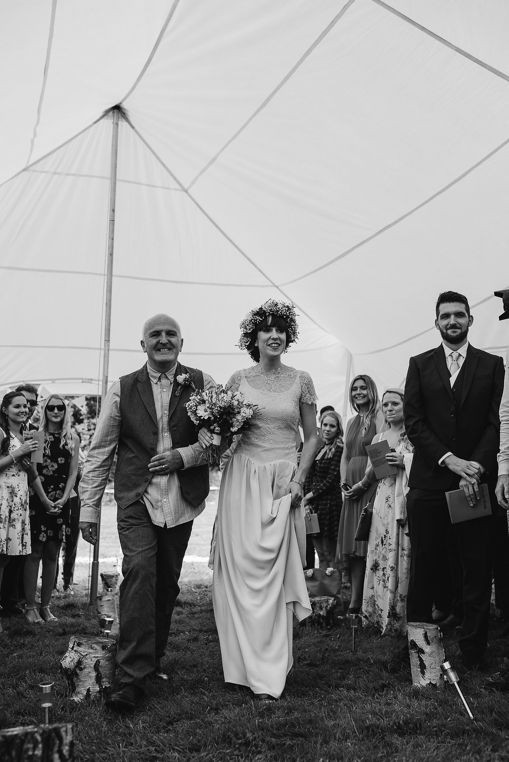 Wedding Ceremony | Wedding Photography | Swansea, South Wales | Down to Earth | Our Beautiful Adventure Photography
