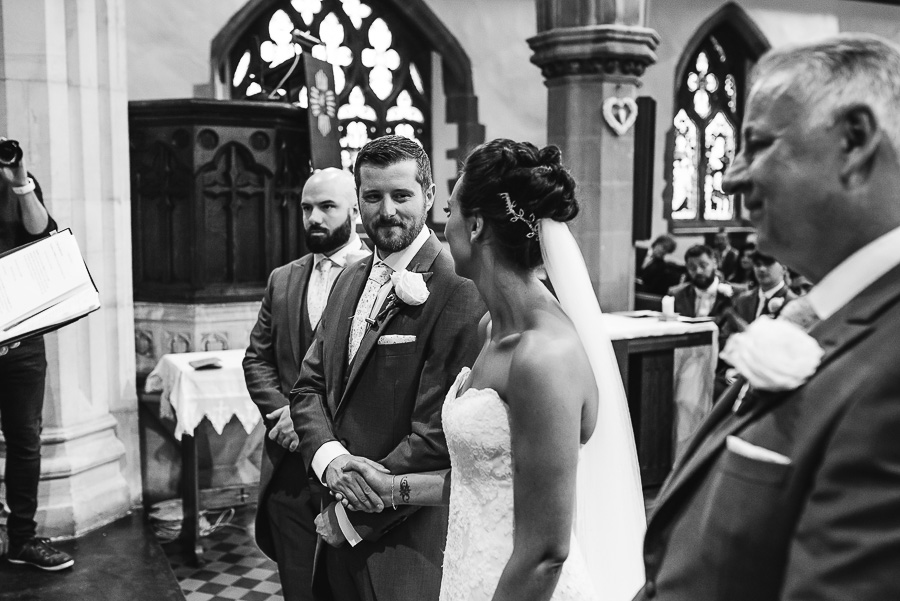 Wedding Ceremony St Paul's Sketty - Oxwich Bay Hotel Wedding - Swansea and South Wales Wedding Photographer - Our Beautiful Adventure Photography