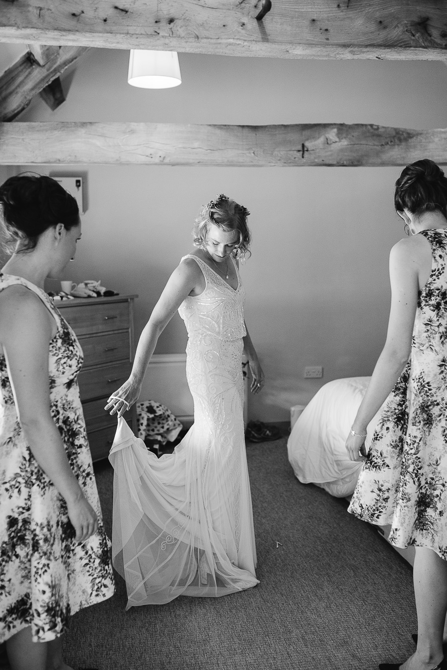 Wedding Photography - Folly Farm Centre Bristol - Our Beautiful Adventure Photography - Bridal Preparations