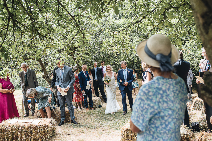 Wedding Photography - Folly Farm Centre Bristol - Our Beautiful Adventure Photography - The Ceremony
