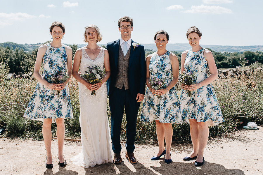 Wedding Photography - Folly Farm Centre Bristol - Our Beautiful Adventure Photography - The Group Photos