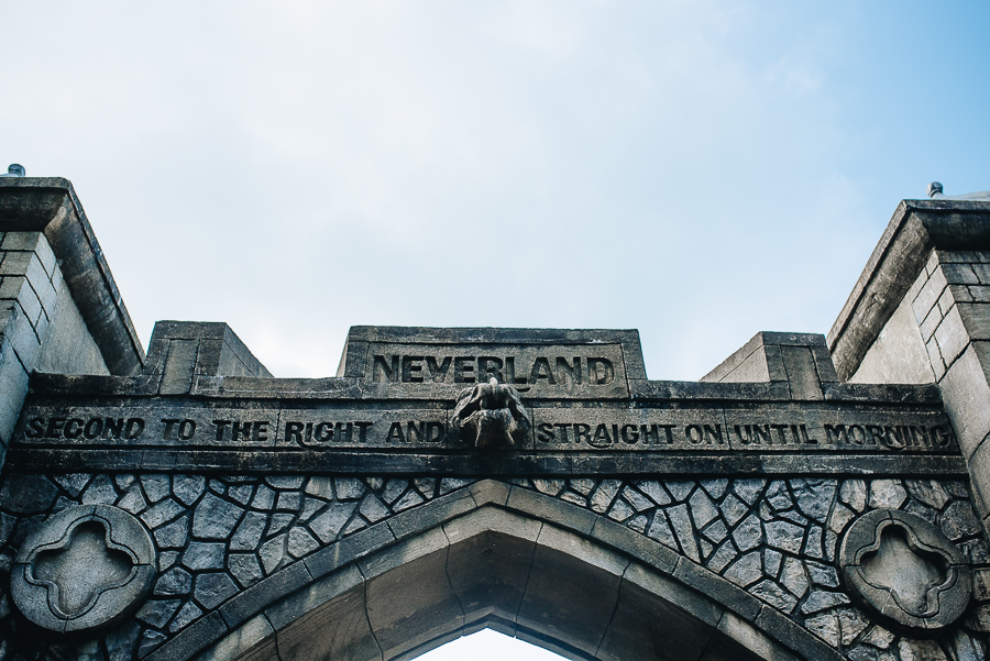 Neverland themed area. Great for younger children.
