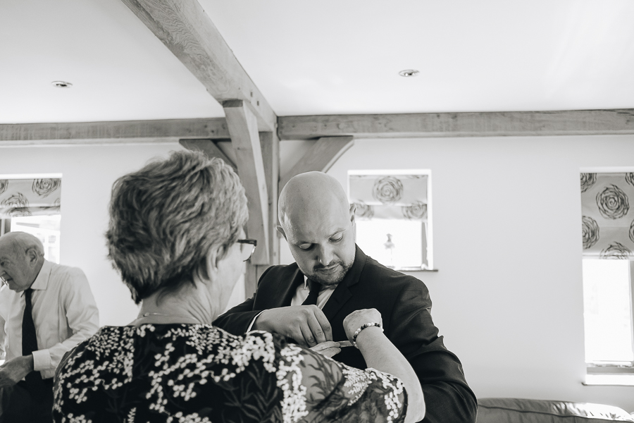 A Fairyhill Wedding - Gower, Swansea - Our Beautiful Adventure Photography - Groomsmen Preparations