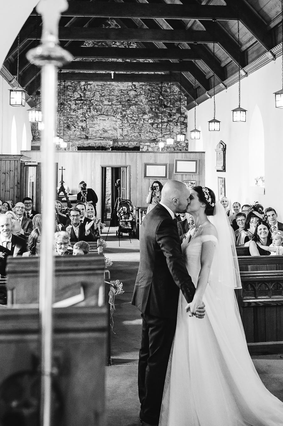 A Fairyhill Wedding - Gower, Swansea - Our Beautiful Adventure Photography - The Ceremony