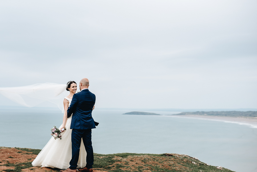 A Fairyhill Wedding - Gower, Swansea - Our Beautiful Adventure Photography - The Couple's Portraits