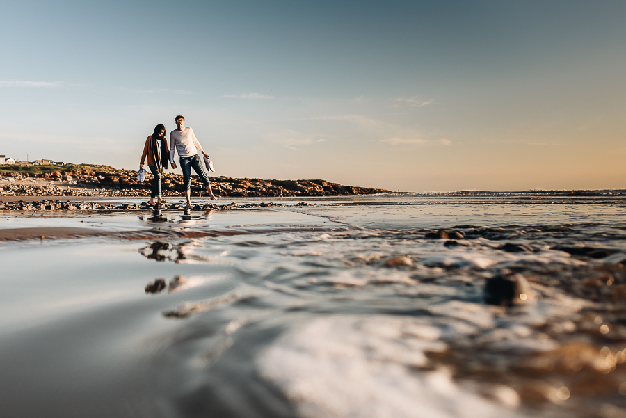 An Engagement Session - Ogmore Beach - South Wales - Wedding Photographer