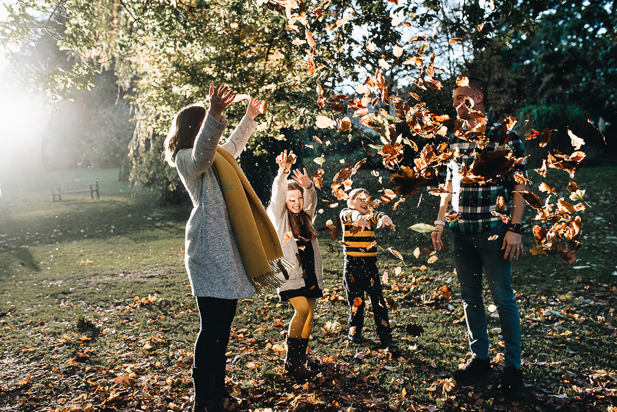 Autumnal Family Session - Clyne Gardens - South Wales