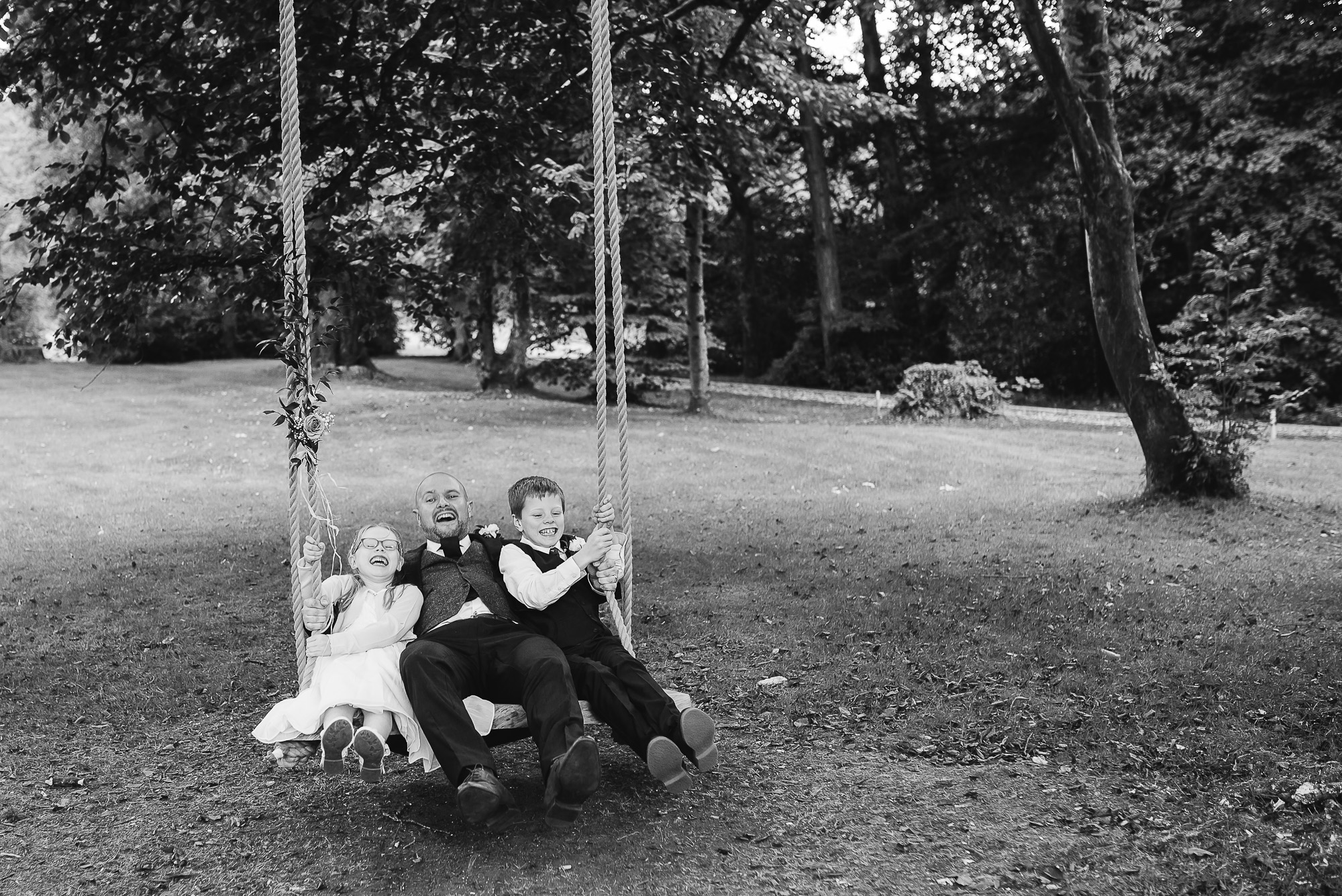 Wedding with a Swing | Fairyhill | Wedding Photography | Swansea | Gower | South Wales