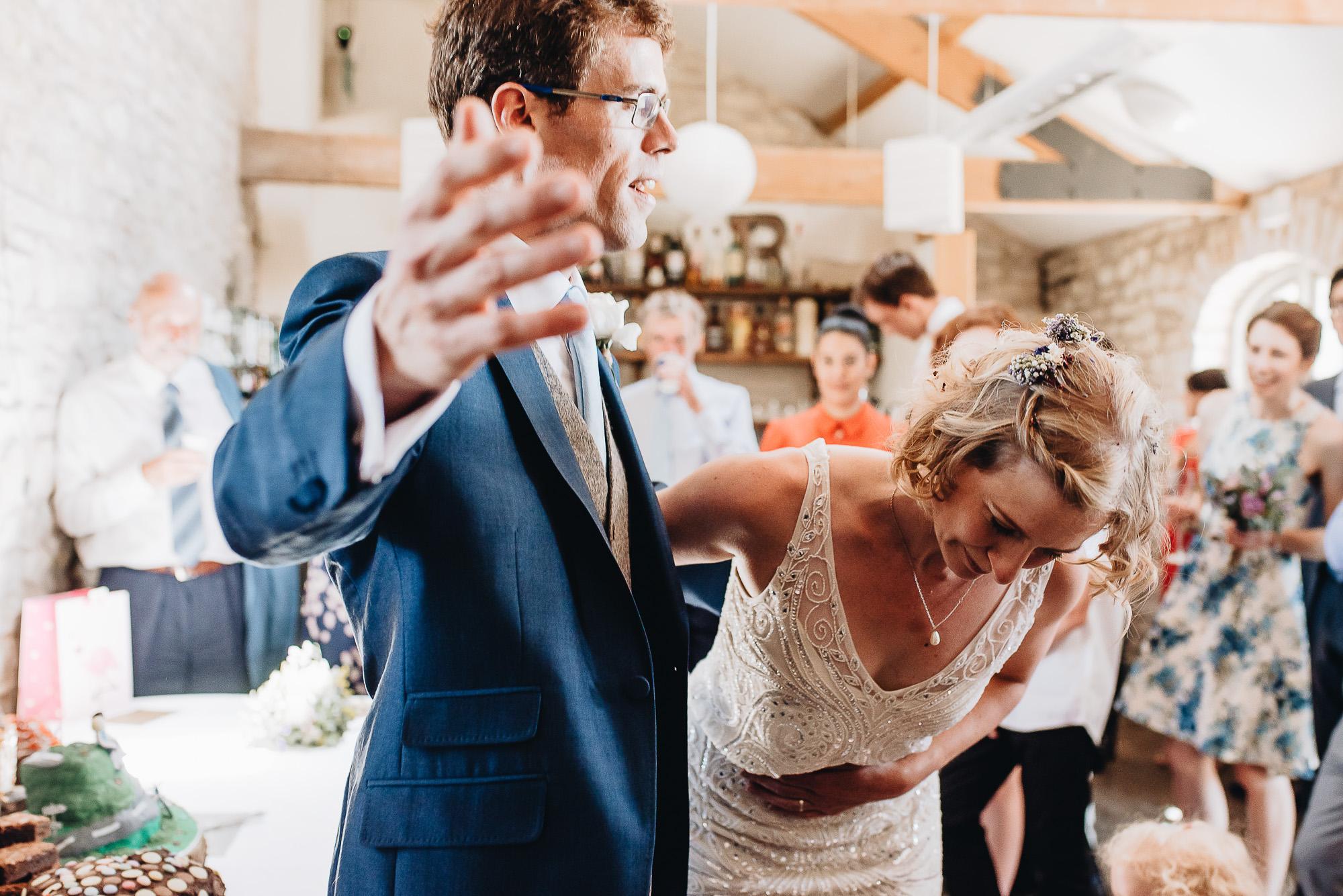 Bride and Groom | Folly Farm Wedding - Bristol | Wedding Photographer
