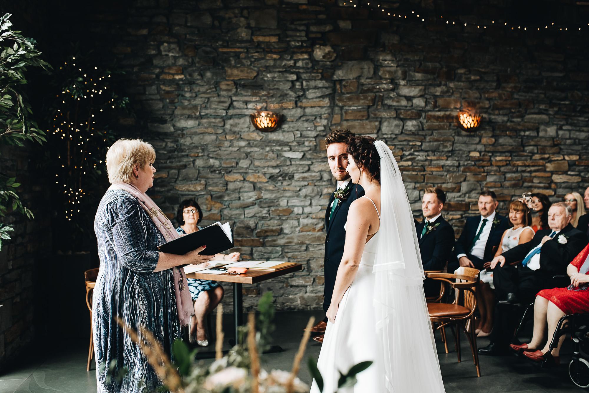 The Ceremony | Sosban, Llanelli | Wedding Photographer | South Wales