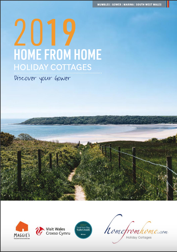 I worked together with the lovely folks over at Home from Home holiday cottages on their 2019 brochure, supplying them with lots of my images of the Gower, including the cover image above. Click through to view the brochure.